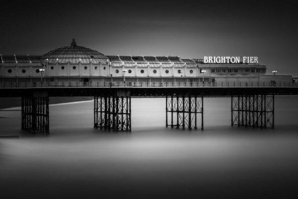 Brighton Pier also known as the Palace Pier, Brighton England.
