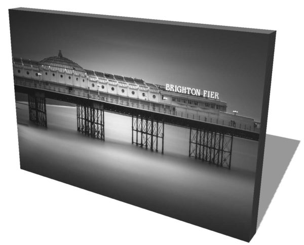 Brighton, Pier, England, Long Exposure, Black and White Ivo Kerssemakers