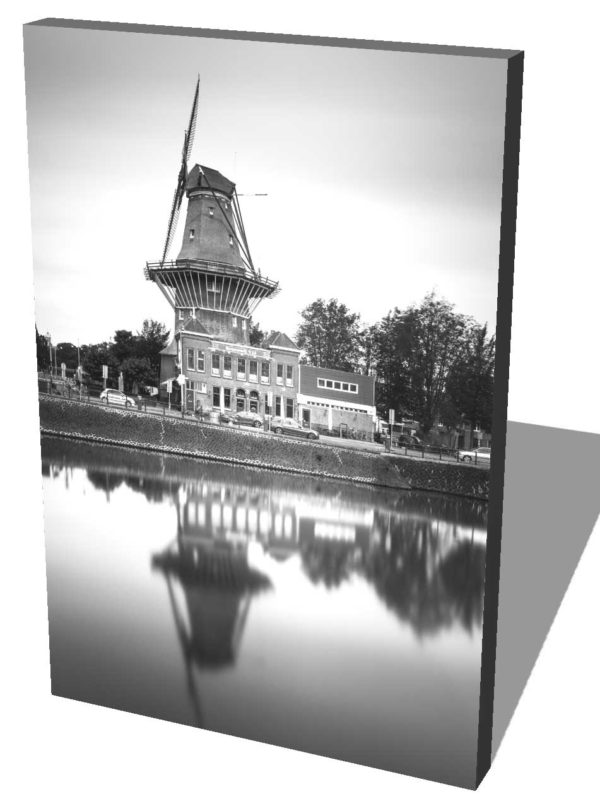 Amsterdam, Brouwerij het ij, Black and White, Long Exposure, Ivo Kerssemakers, Canals, Architecture, Netherlands, Holland, Fine Art, B&W
