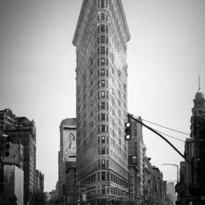 Flatiron Building New York, Black and White, Long Exposure, Ivo Kerssemakers