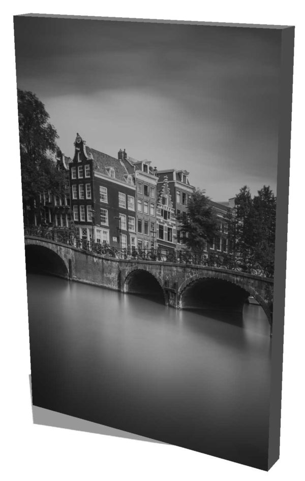 Amsterdam, Leliegracht, Keizersgracht, Black and White, Long Exposure, Ivo Kerssemakers, Canals, Architecture, Netherlands, Holland, Fine Art, B&W