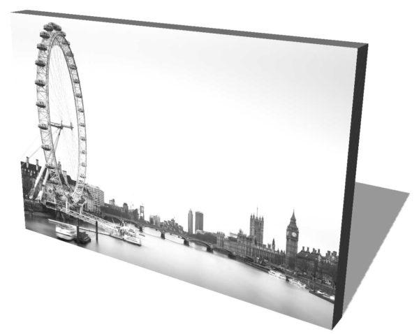 London, Eye, England, Black and white, Longexposure, Ivo Kerssemakers
