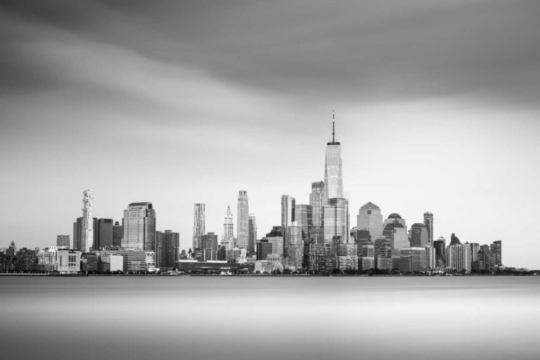 New York Black and White Cityscape Long Exposure Photography, Fine Art, Ivo Kerssemakers