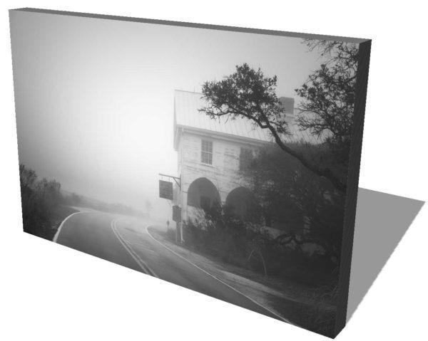 Pawleys Island, Pelican Inn, Historical building, South Carolina, Fog, Black White, BW, Ivo Kerssemakers
