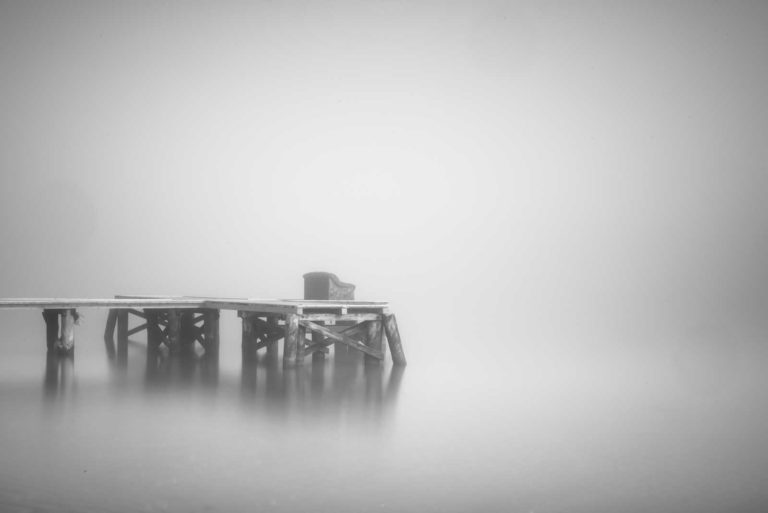 Fog, Long Exposure, Black and White, Sopot, Poland, Pier, Water, Ivo Kerssemakers