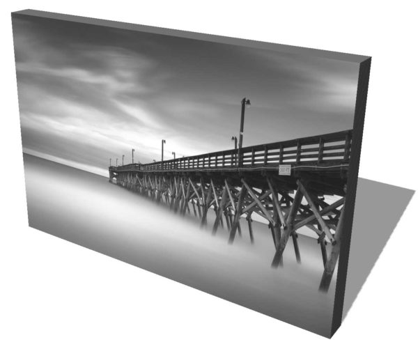 Surfside Beach, Pier, Beach, Ocean, Storm, South Carolina, Long Exposure, Black and White, Ivo Kerssemakers
