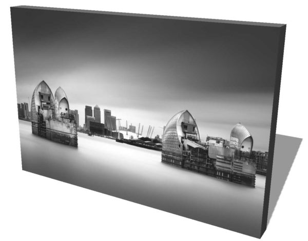 Thames Barrier, London, England, Black and White, B&W, Long Exposure, Ivo Kerssemakers