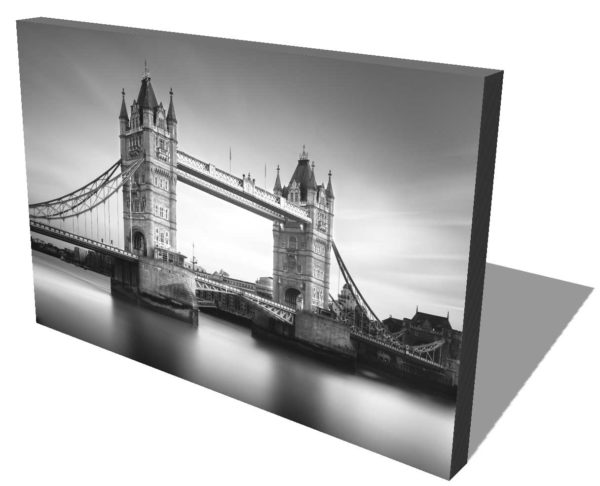 Tower Bridge, London, Black and White, Long Exposure, Ivo Kerssemakers