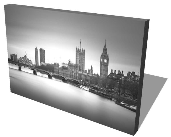 London, England, House of Parliament, Black and white, Long exposure, Westminster, Ivo Kerssemakers