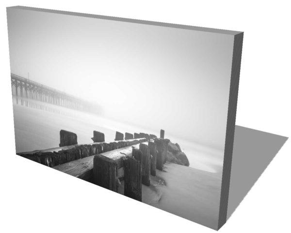 Pawleys Island, Pier, Groin, Black and White, Fog, Long Exposure, South Carolina, Ivo Kerssemakers