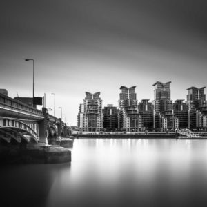 Vauxhall bridge with a view of st. George Wharf,