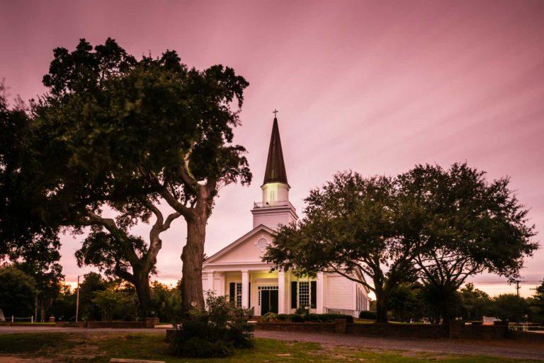 belin church, murrells inlet, belin umc, belin memorial umc, church, south carolina, long exposure, ivo kerssemakers