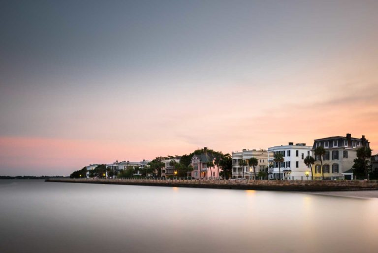 Charleston, Battery, Long Exposure, Sunset, Ivo Kerssemakers, South Carolina, Fine art, Photography