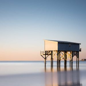 Hunting Island, Sunset, Long Exposure, Little Blue, Cabin, The Indomitable Lady, South Carolina, Ivo Kerssemakers