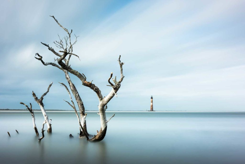 Morris Island, Lighthouse, Charleston, Folly Beach, South Carolina, Long Exposure, Ivo Kerssemakers, Fine Art, Photography