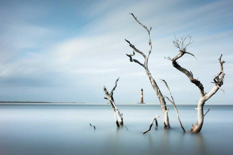 Morris Island, Lighthouse, Charleston, Folly Beach, South Carolina, Long Exposure, Ivo Kerssemakers, Fine Art, Photography
