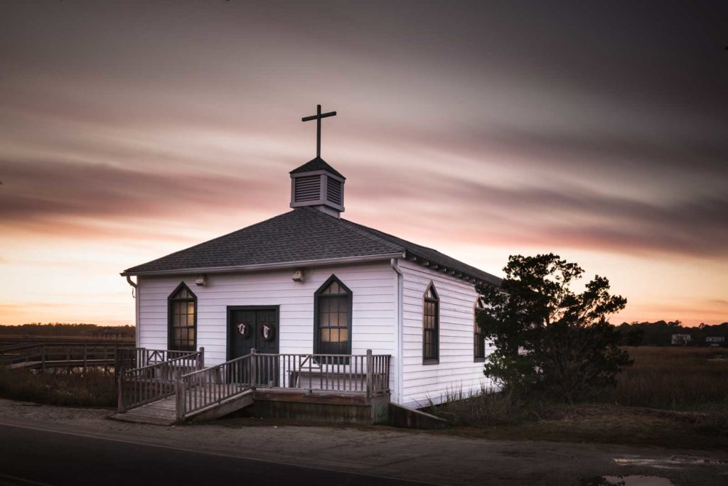 Pawleys Island, Chapel, Sunset, Long Exposure, South Carolina, Ivo Kerssemakers
