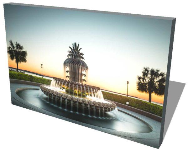 Charleston, Pineapple, Fountain, Sunrise, Long Exposure, Ivo Kerssemakers