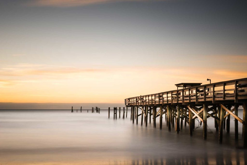 Myrtle Beach, South Carolina, Springmaid Pier, Pier, Long Exposure, Sunrise, Mathew, Ivo Kerssemakers