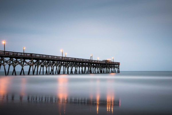 Surfside Beach, Pier, Before Matthew, South Carolina, Sunset, Long Exposure, Ivo Kerssemakers