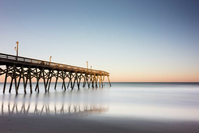 Surfside Beach, Pier, Matthew, South Carolina, Sunset, Long Exposure, Ivo Kerssemakers