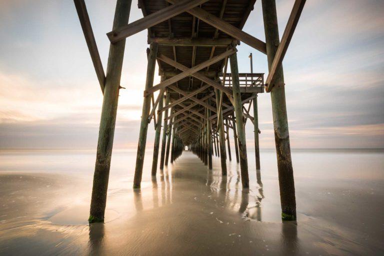 Pawleys Island, Pier, Under the pier, Long Exposure, Sunrise, South Carolina, Ivo Kerssemakers, Fine Art, Photography